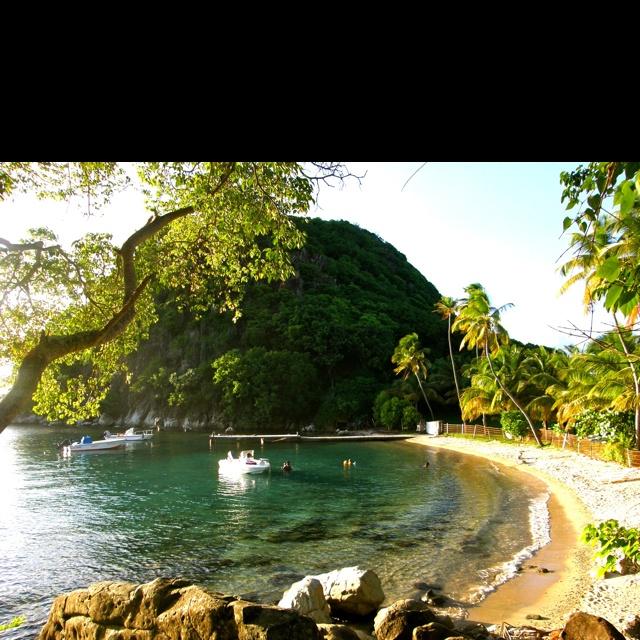 Pain de sucre, les Saintes, Guadeloupe, French West Indies.