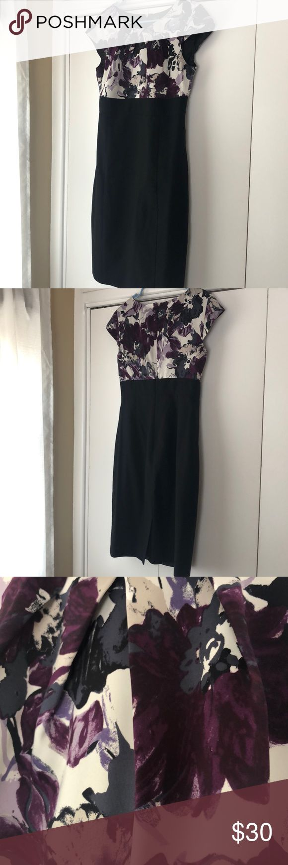 Ann Taylor dress Comfortable dress for work /wedding special event Dresses Asymm…