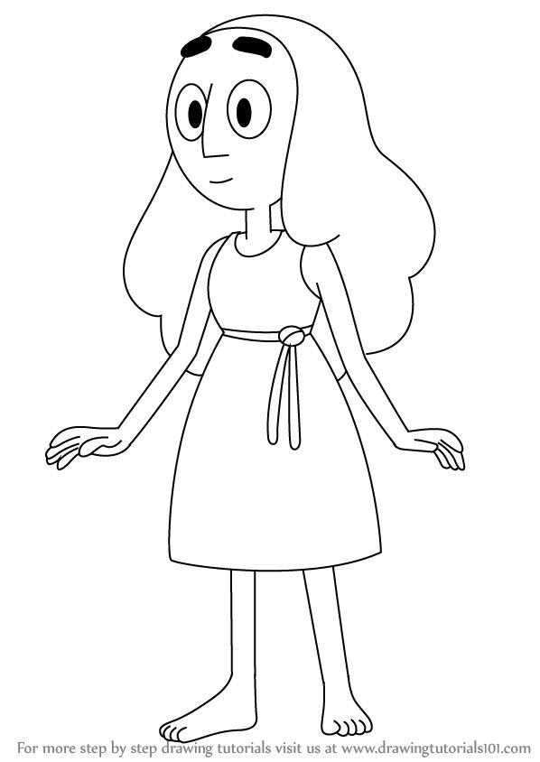 Amethyst Steven Universe Coloring Pages Coloring Pages