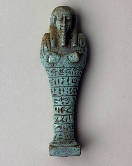 One of Nightingale's amulets. A collection of ancient Egyptian amulets acquired by Florence Nightingale in the winter of 1849 when she went on an adventurous Egyptian holiday are going on display for the first time – and the curator at the World Museum in Liverpool is rather more impressed by them than the Lady of the Lamp herself was.