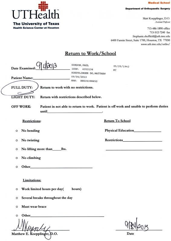 Doctors Excuse For Work From Hospital Template In 2019 Doctors Note Template Doctors Note