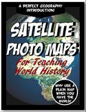 World History Satellite Maps Physical Geography PowerPoint