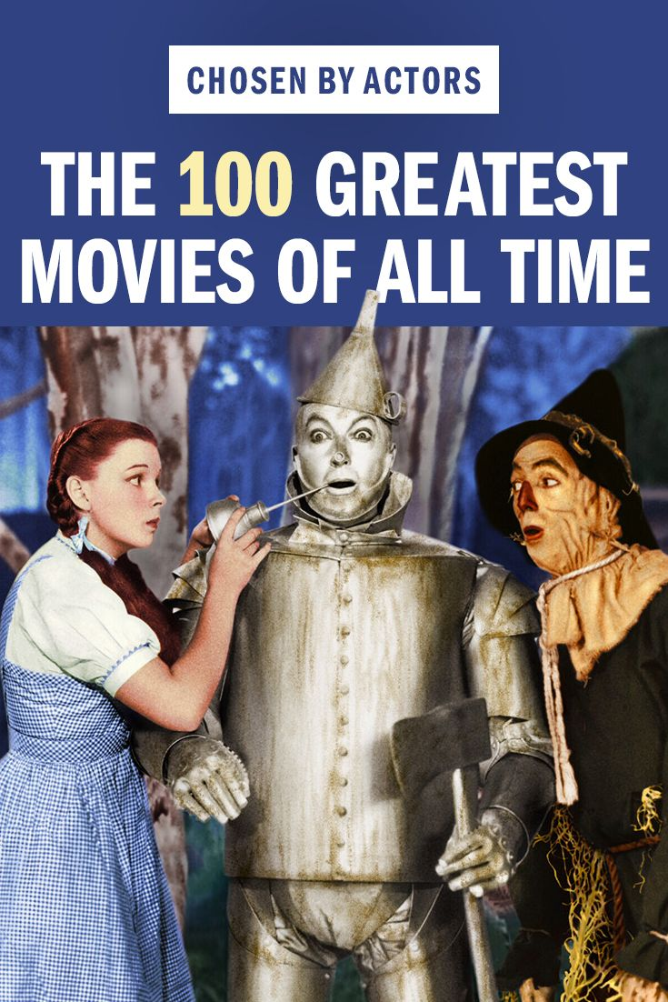 The 100 Best Movies Of All Time As Chosen By Actors With Images