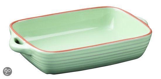 Jamie Oliver - Terracotta ovenschaal M - Groen