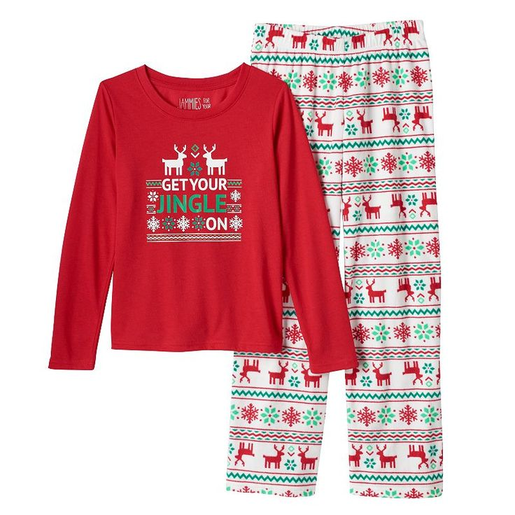 """Toddler Boy Jammies For Your Families """"Get Your Jingle On ..."""