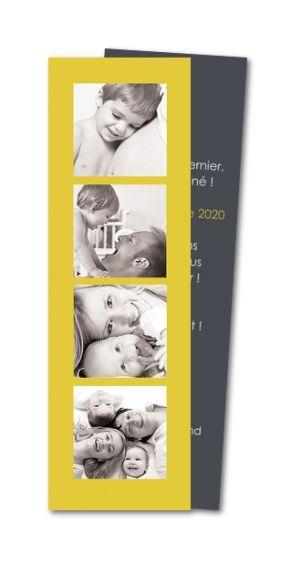 Faire part naissance Photomaton (MTR-124-TP31)