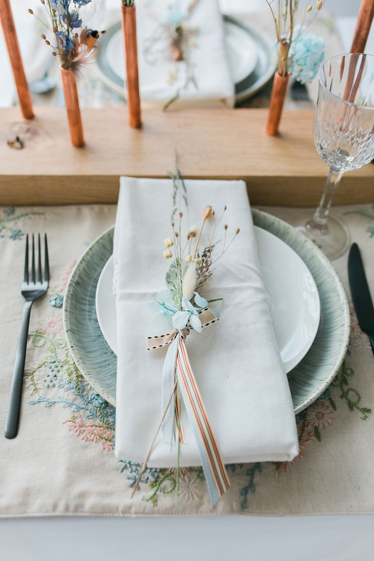 433 best wedding place names settings images on pinterest for Wedding place settings ideas