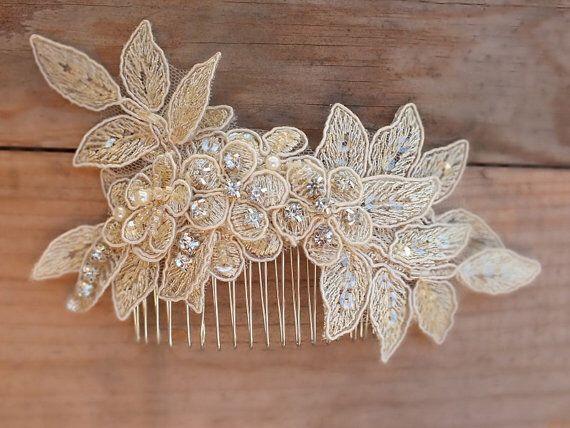 Bridal Lace hair comb