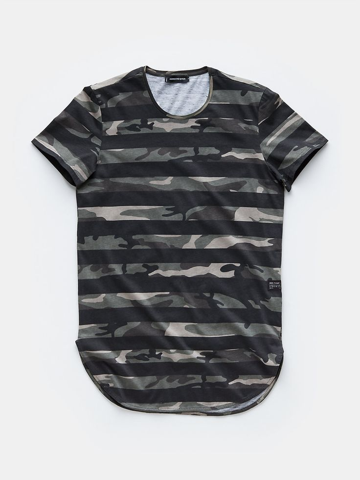 print t-shirt zwart