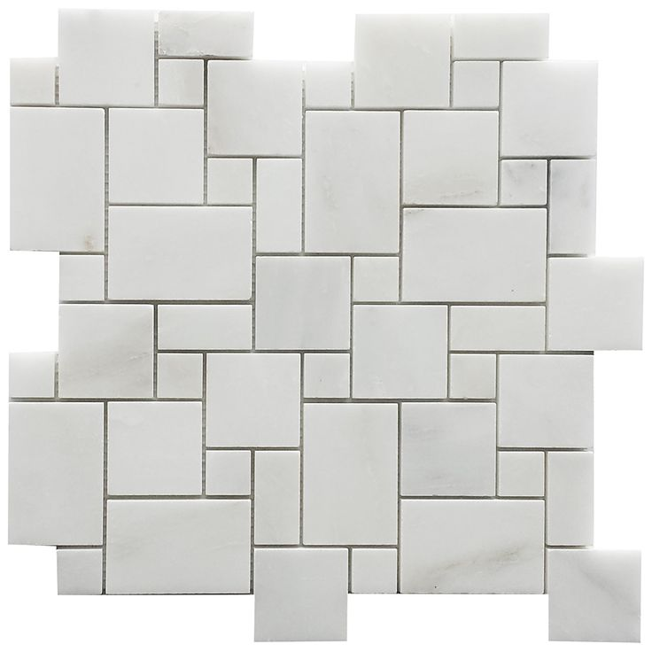Bianco Bello Mini Versailles Pattern Mosaic - Tile4You