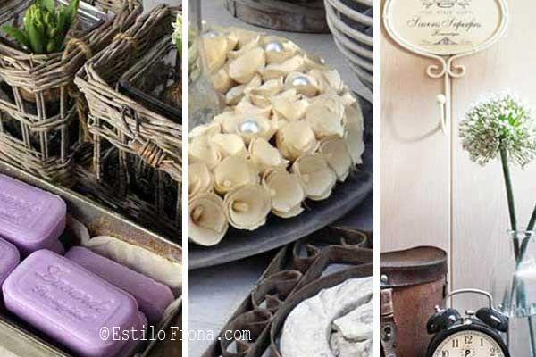 Inspiración para decorar el living, el cuarto de huéspedes y el baño.  #lavanda #reciclaje #decoración #hogar