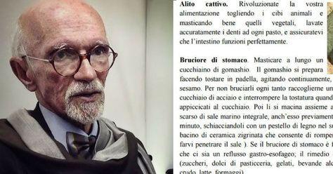 """Se hai problemi all'intestino segui questi consigli. Il """"Pronto Soccorso Intestinale"""" di Franco Berrino"""