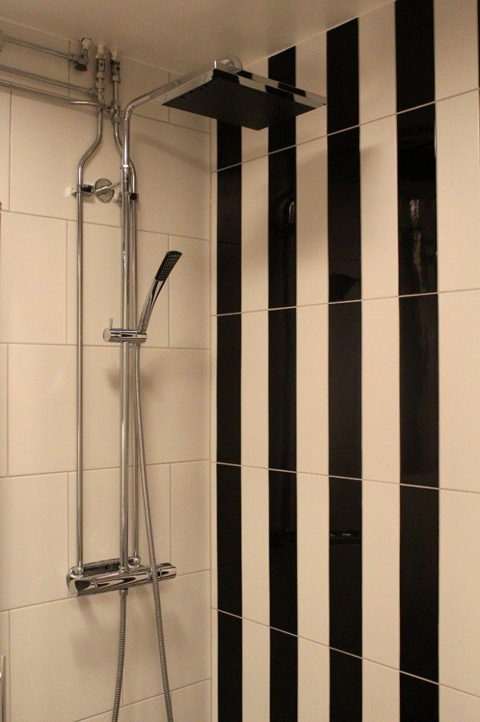 Bathroom renovation. Black and white bathroom. Bathroom inspiration.