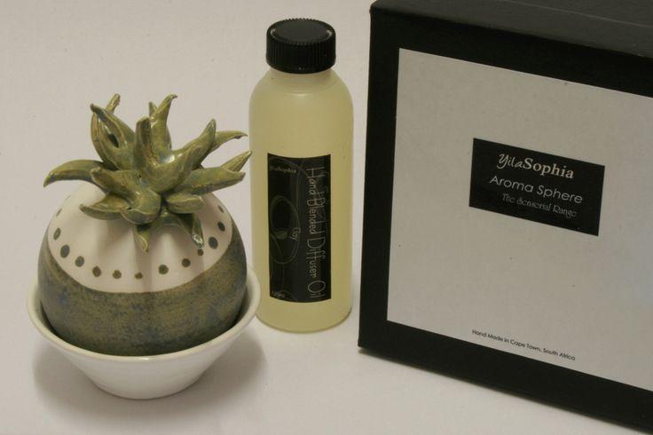 Aroma Sphere - Diffuser Cacti White/Blue