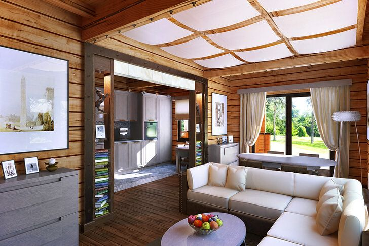 Деревенский стиль - это не обязательно грубая, неотесанная мебель из дерева. Современный деревенский стиль аккуратен и лаконичен.
