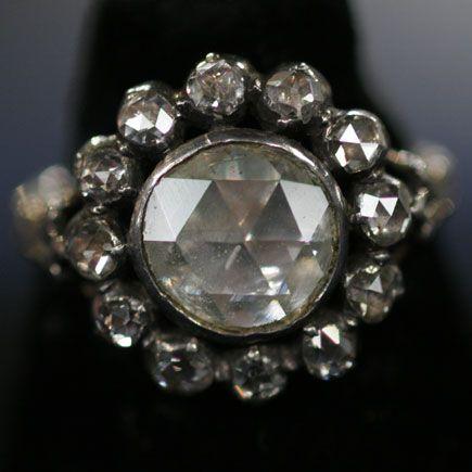 Dutch Diamond Ring, ca. 1780