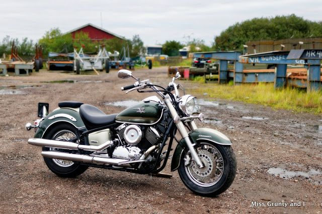 - - Miss Grunty and I - -: Autumn Sets In...    Yamaha XVS1100a Classic
