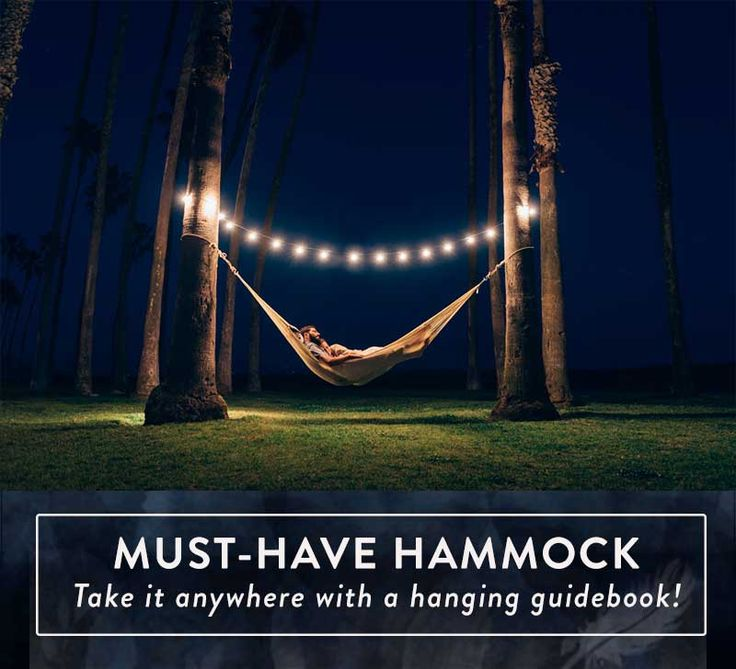 MUST HAVE hammock for summer! Easy to hang anywhere and roomy enough to share...