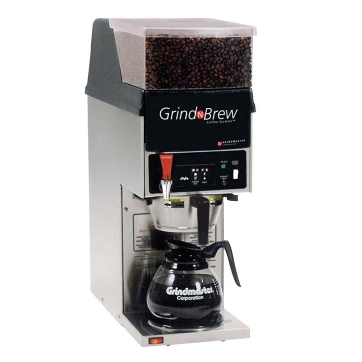 Coffee Makers with Grinder for Simplicity of Life : Grindmaster Grind And Brew Coffee Maker With Grinder