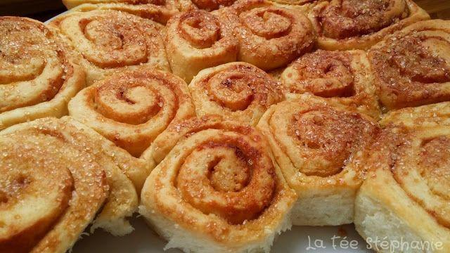 La Fée Stéphanie: Kanelbulle ou Cinnamon rolls: brioches roulées à la cannelle