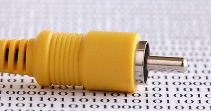 Como dividir uma extremidade de um cabo RCA. Os cabos RCA são usados para transmitir sinais analógicos de áudio e vídeo compostos a partir de dispositivos eletrônicos, como televisores, aparelhos de DVD e videocassetes. No entanto, você pode querer enviar o mesmo sinal para dois dispositivos diferentes. Este é frequentemente o caso quando o envio de uma ligação por cabo de vídeo com dois ...