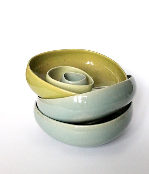 You can never have too many bowls,  these pretty ones from Ro are available from www.nordicelements.com @nordicelements