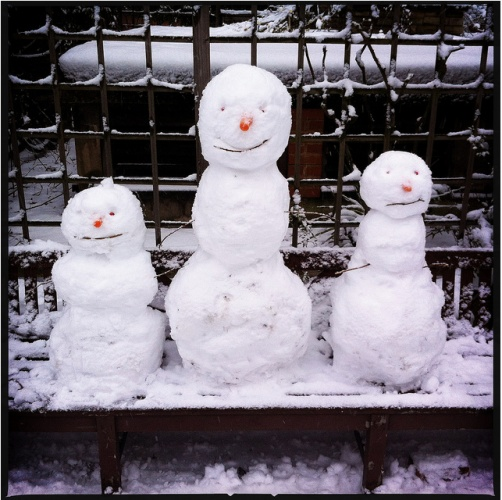 London Snow People & Creatures 2013 | Londonist