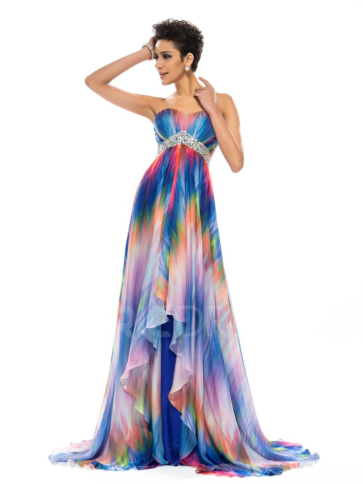 ericdress.com offers high quality  Glamorous A-Line Empire Sweetheart Pattern Prom Dress Evening Dresses 2015 unit price of $ 129.26.