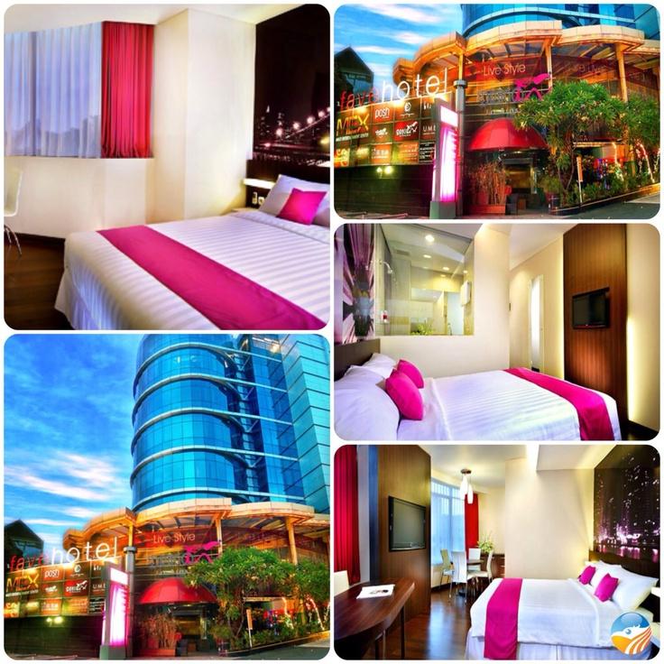 Colorful Fave Hotel Surabaya, East Java, Indonesia, ⭐⭐ Hotel.
