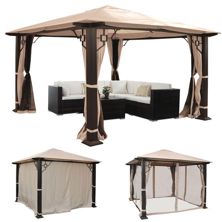 die 25 besten ideen zu garten pavillon auf pinterest. Black Bedroom Furniture Sets. Home Design Ideas