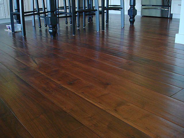 Plantation Hardwood Floors Custom Rustic Walnut