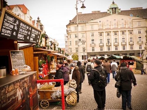 Christmas in Brno, Czech Republic