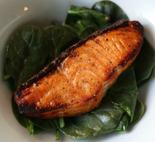 Maple Glazed Salmon. You probably already have all the ingredients in ...