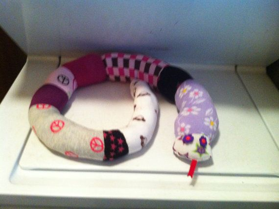 ock Snakes Handmade Plush Snakes made with New Socks Child's Toy, Neck Pillow, Door Draft Stopper, Cat Toys  CA$33.92