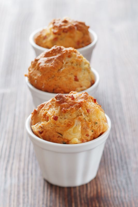 Savoury breakfast muffins for the kids – a great lunchbox snack!