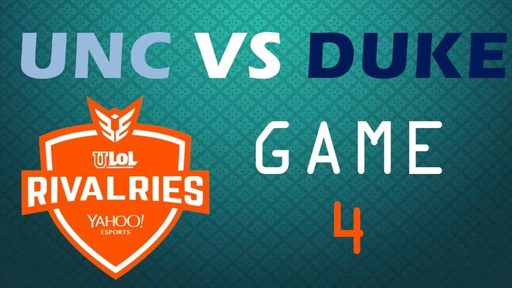 uLoL Rivalries - UNC VS Duke - Game 4 https://www.youtube.com/watch?v=jZDgscxFeBI #games #LeagueOfLegends #esports #lol #riot #Worlds #gaming