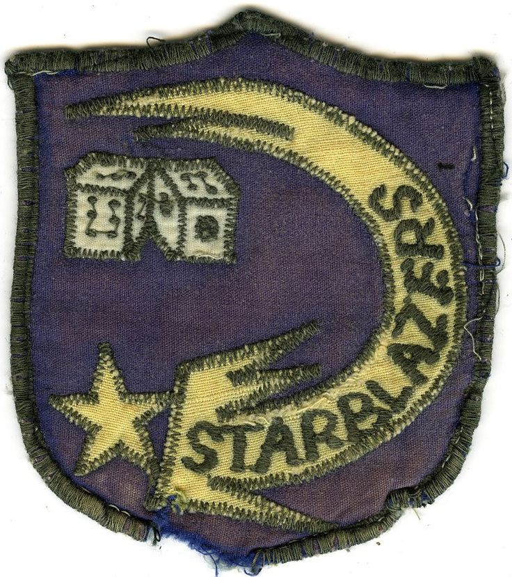 61st Assault Helicopter Company Lucky Star Unit Patch