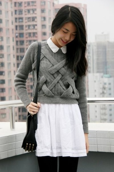 Basketweave knits! Come on, guys, this is cool af.