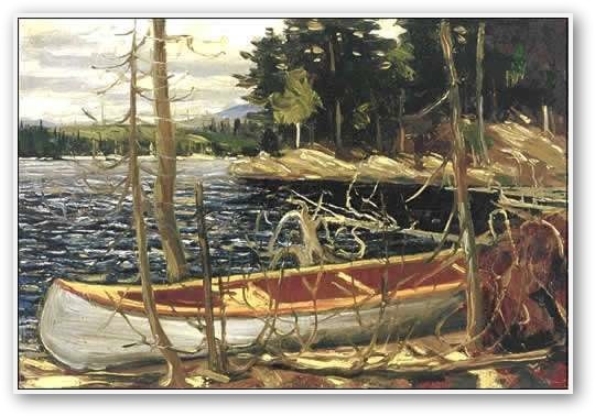 Tom Thomson - The Canoe 1912
