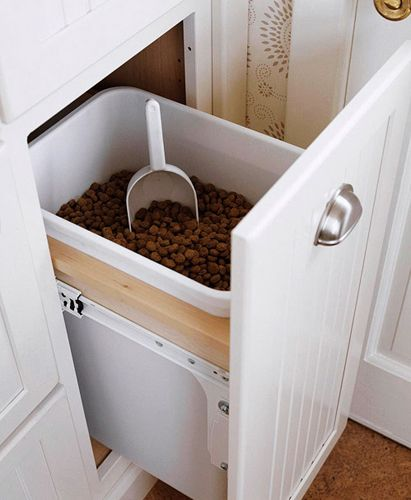 Dog food cabinet! I would have a lid on top though.