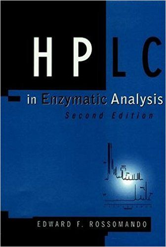 The use of High Performance Liquid Chromatography (HPLC) techniques in the study of enzymatic reactions has grown significantly since the publication of the first edition of this highly successful book: the role of enzymes in biological research has expanded; the application of HPLC and enzymes has extended to more disciplines; advances in separation techniques and instrumentation have increased the capability of HPLC; and the discovery of new enzymes has spawned new methods of analysis.