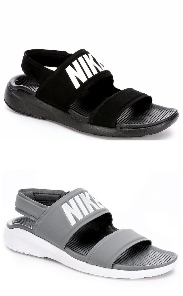 Description: Nike Tanjun Womens Sandal Add an athletic twist to your spring and summer look in the Tanjun womens sandal from Nike. A soft neoprene upper creates a dry, comfortable fit along with an