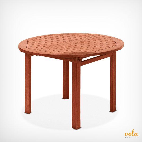 Bonita mesa de jardís de madera además extensible. Mira qué características ahora