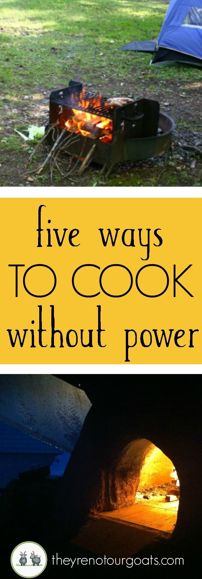 Be prepared for your next outage, camping trip, or just for a bit of fun cooking the old-fashioned way.