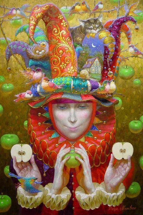 Victor Nizovtsev (painter).   (art, color, colorful, artist, design, painting)http://www.mcbridegallery.com/nizovtsev.html