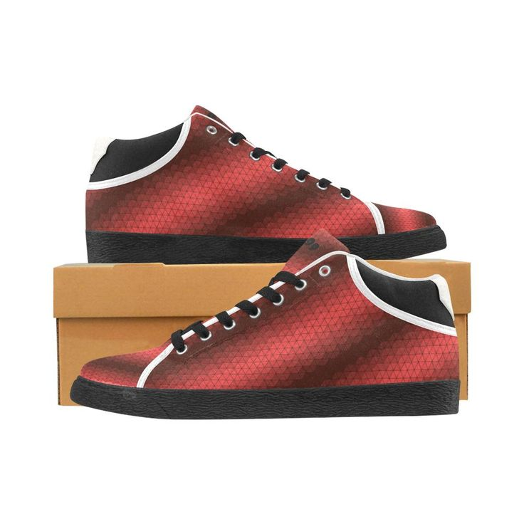 "Sneakers "" Abstract Red"""