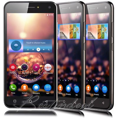 """﹩47.98. 5"""" Cheap Unlocked 4Core Dual SIM Android 5.1 Cell Phone 3G T-Mobile Smartphone    Contract - Without Contract, Operating System - Android, Storage Capacity - 4GB, notice - dont support Sprint,Verizon,Virgin Mobile etc CDMA carriers, Features - 3G Data Capable, Camera Resolution - 5.0MP, Screen Size - 5.0'', CPU - MTK6580W, Cortex A7 Quad core, 1.3GHz,"""