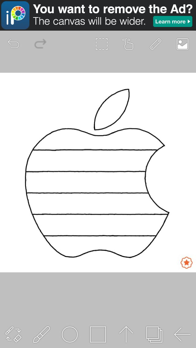 Coloriage Apple!!!