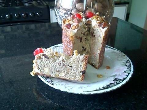 Fabulosa receta para Pan dulce navideño para regalar o vender. Es muy rendidora y exquisita!!!