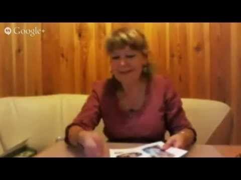 Выступление Анны Турчиной на Декупажном марафоне - YouTube